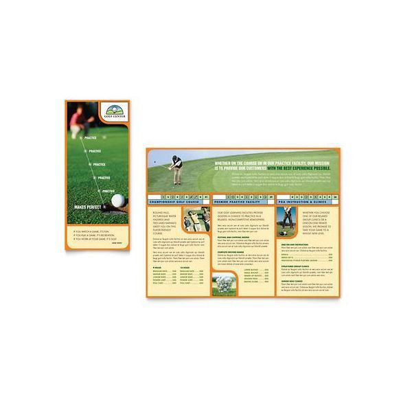 10 Microsoft Publisher Brochure Golf Template Options: Download ...