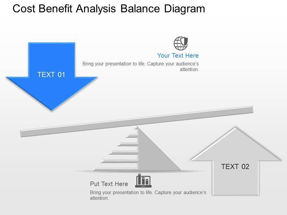 kh cost benefit analysis balance diagram powerpoint template Slide03