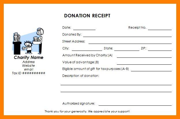 4+ donation receipt | childcare resume