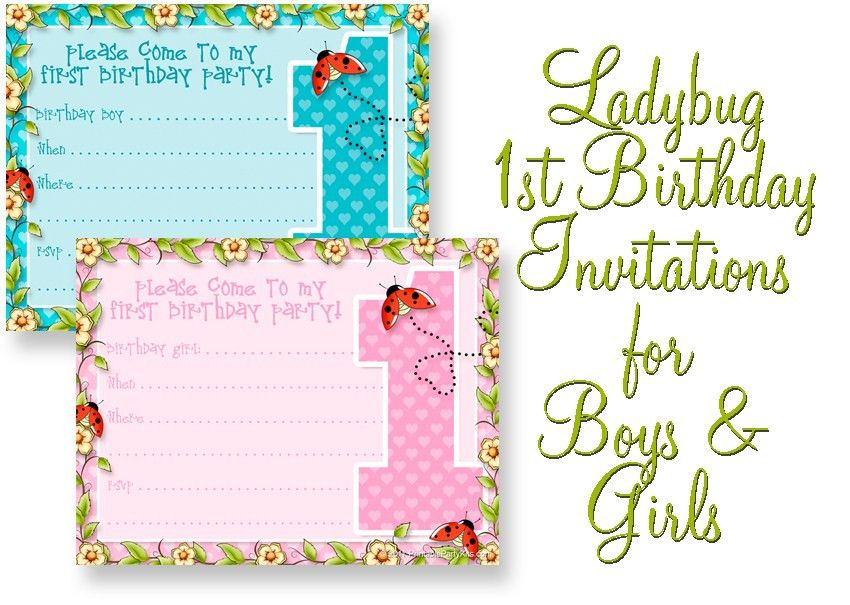 1st Birthday Invitations Templates Free | Amazing Invitations Cards