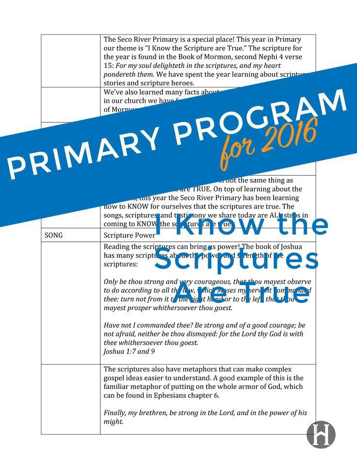Best 20+ Primary program ideas on Pinterest | Lds primary songs ...
