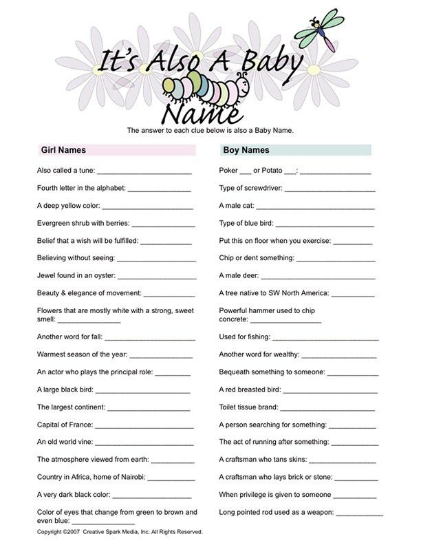 Unique Baby Shower Games | Baby Shower Games | Pinterest | Life ...