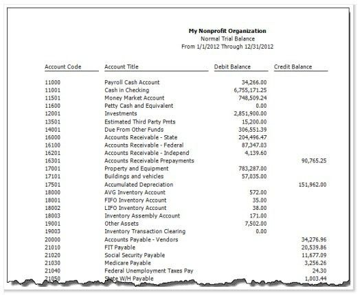 Nonprofit Balance Sheet. Nonprofit Finance Fund Self Assessment ...