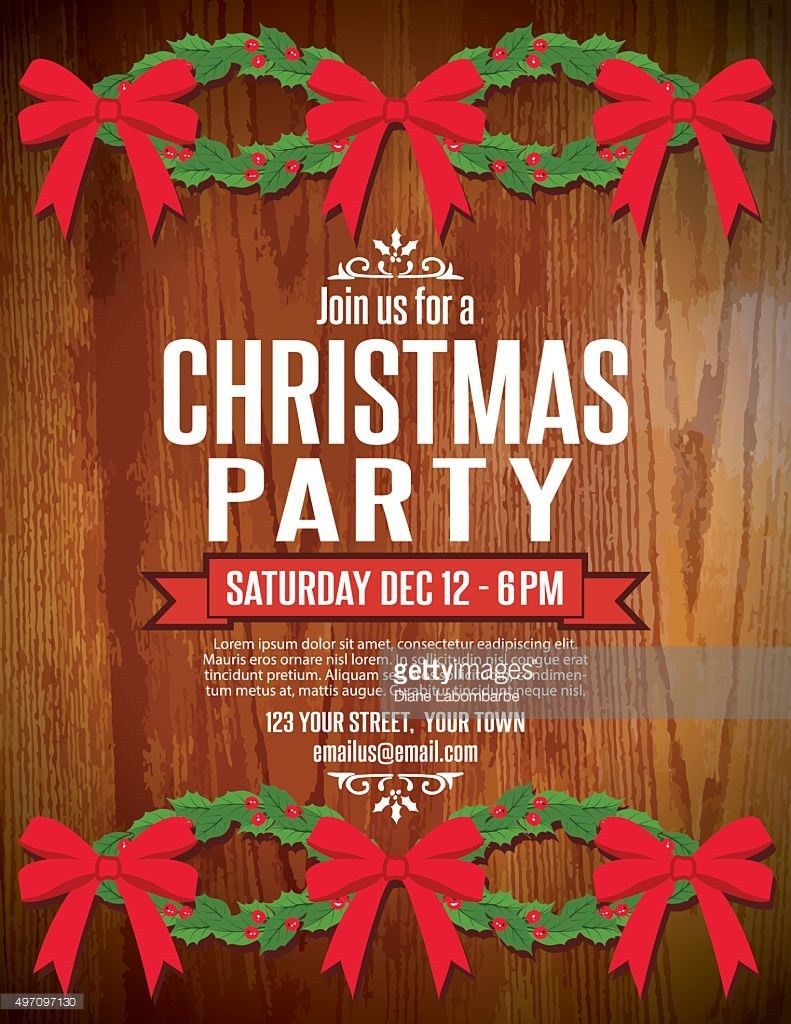 Holiday Party Invitation Template – gangcraft.net