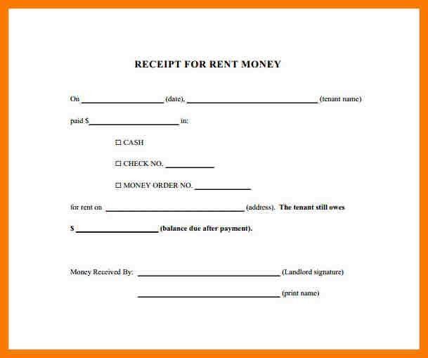6+ rent payment receipts | park-attendant