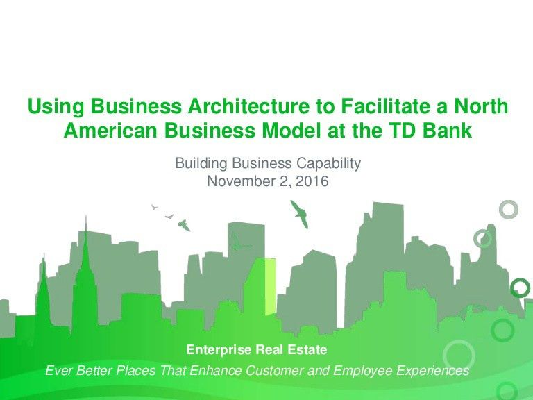 Using Business Architecture to Facilitate a North American Business M…