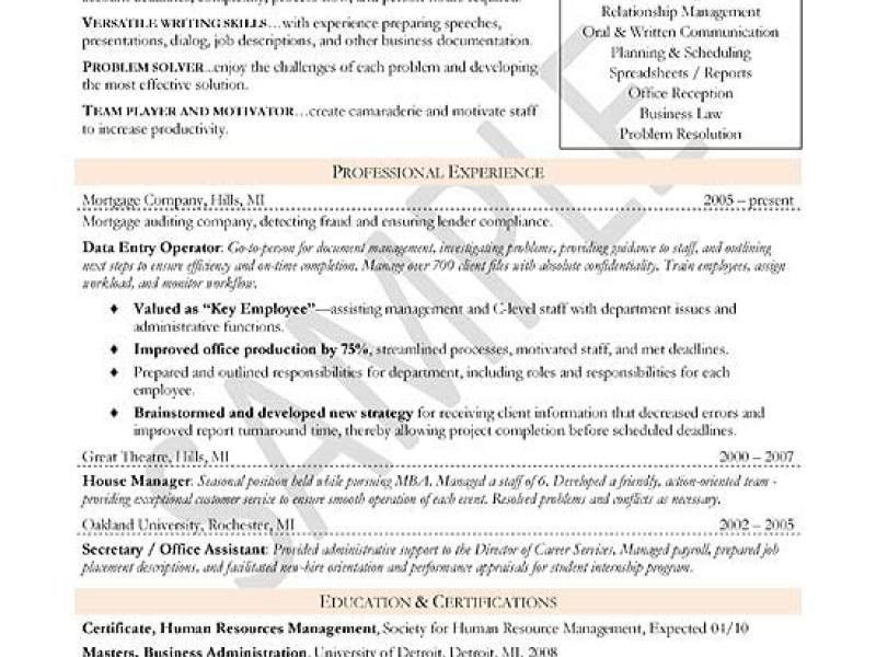 Cv format business development executive