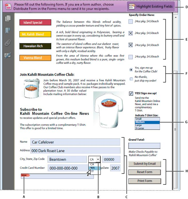 Creating and distributing PDF forms in Adobe Acrobat