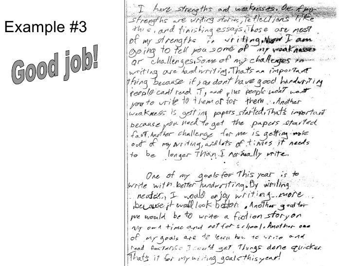 6th grade essay examples