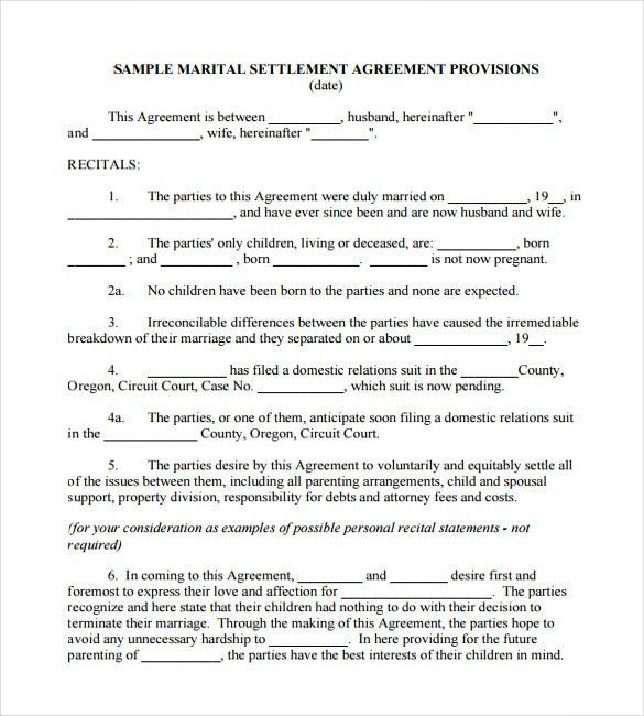 16+ Wedding Contract Templates – Free Sample, Example, Format ...