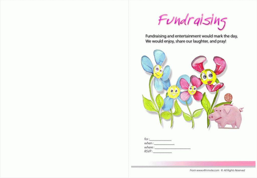 Unique Fundraising Party Invitation Wording Verse