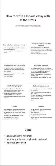Standard Essay Format - Bing Images | ESSAYS HOMESCHOOL ...