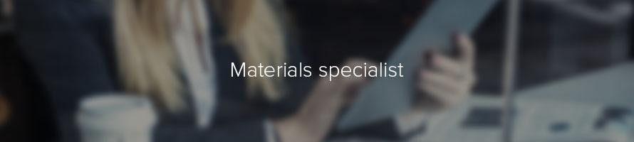 Materials specialist: job description | TARGETjobs