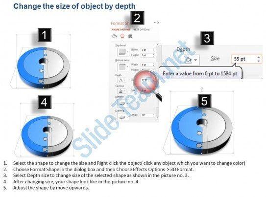Financial Management Teamwork Pie Chart Powerpoint Template Slide ...