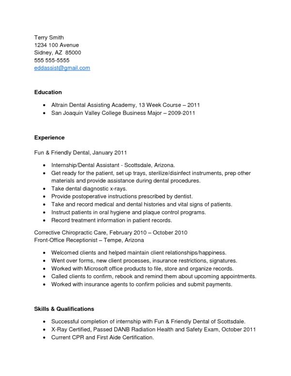 Free Edit Altrain Dental Assistant Resume Academy featuring San ...