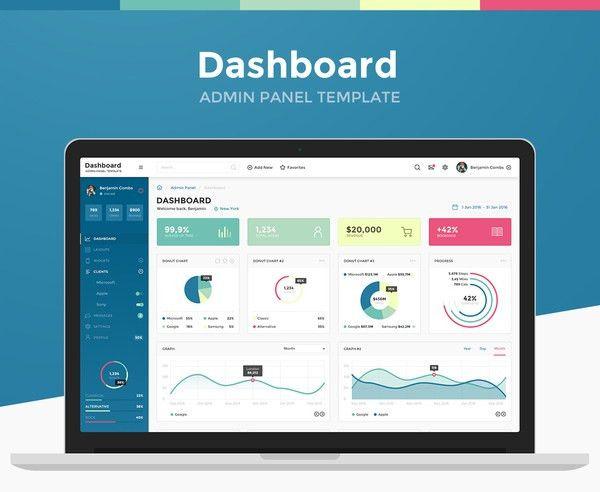 30+ Best Dashboard & Admin Panel PSD Templates   MooxiDesign.com