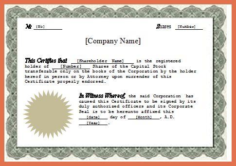 microsoft word certificate template sports