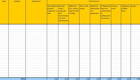 Accounting Templates for Excel