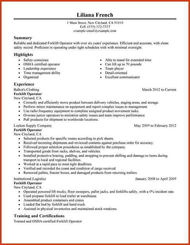 Forklift Operator Jobs In Canada Randstad Inside Warehouse Job ...