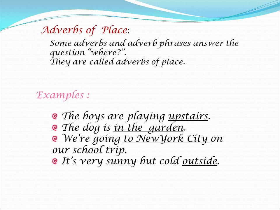 Adverbs - Presentation English Language - SliderBase