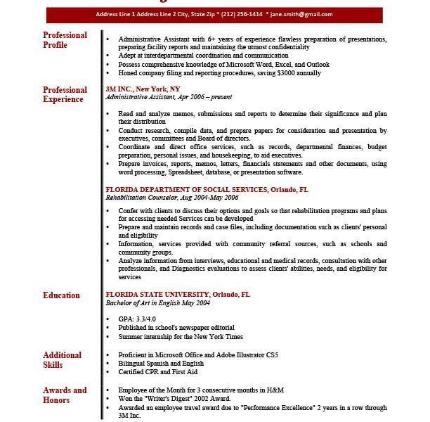 laborer resume professional. sample profile summary for resume 16 ...