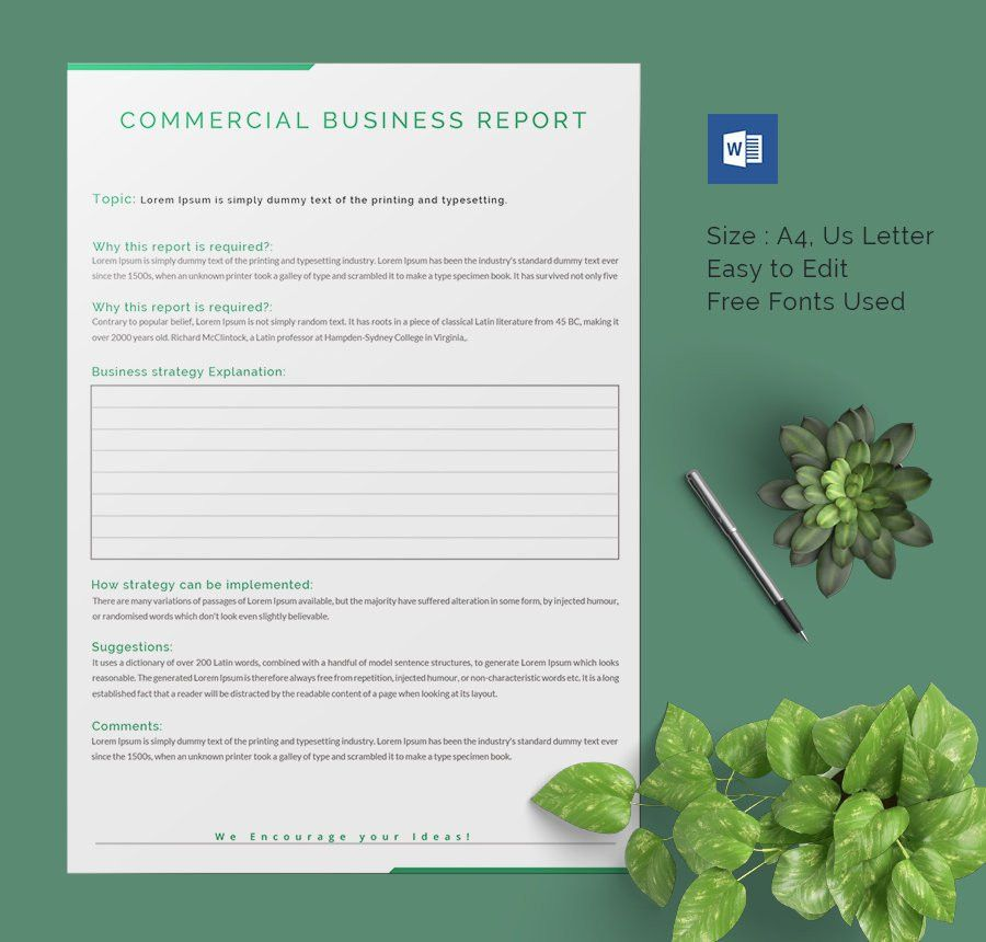 17+ Business Report Templates - Free Sample, Example, Format ...