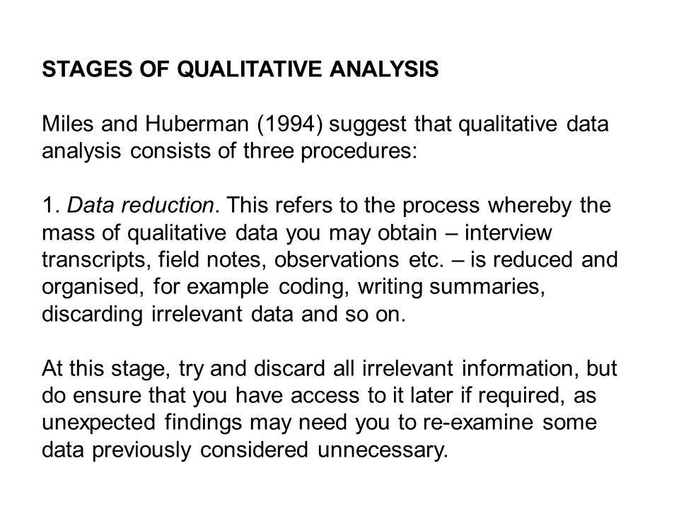ANALYSING DATA II: QUALITATIVE DATA - ppt video online download
