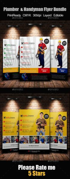 13+ Best Handyman Flyer Templates & Designs! - web resources free ...