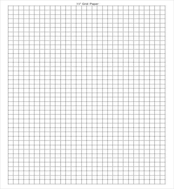 Grid Paper Template U2013 14+ Free Word, PDF, JPG Documents Download .