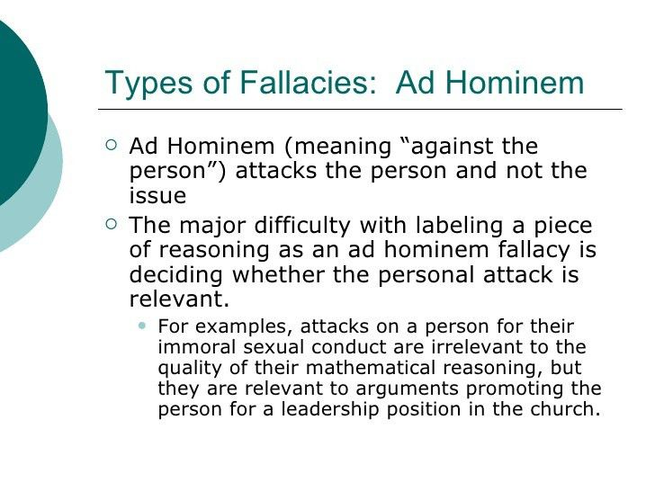 Common Fallacies In Advertising Powerpoint