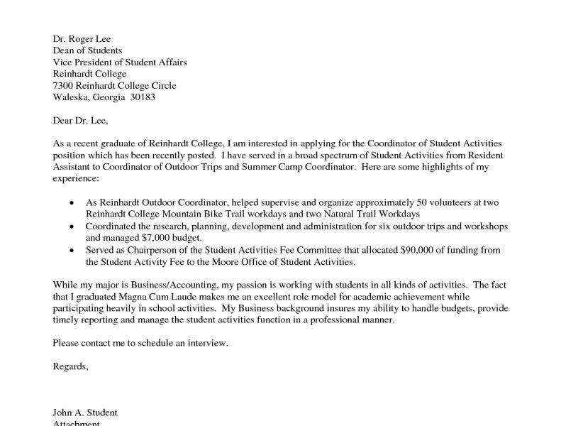 cover letters for recent graduates recent college graduate cover