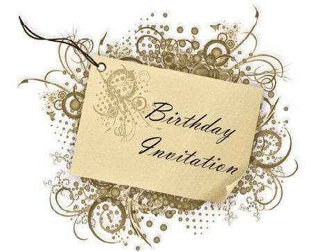 Birthday Party Invitation Card Design ~ Image Inspiration of Cake ...