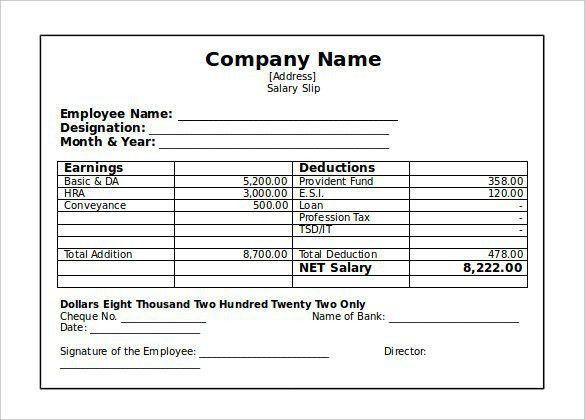 Independent Contractor Pay Stub Template | Template Design