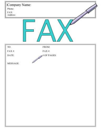 Write This Down Fax Cover Sheet at FreeFaxCoverSheets.net