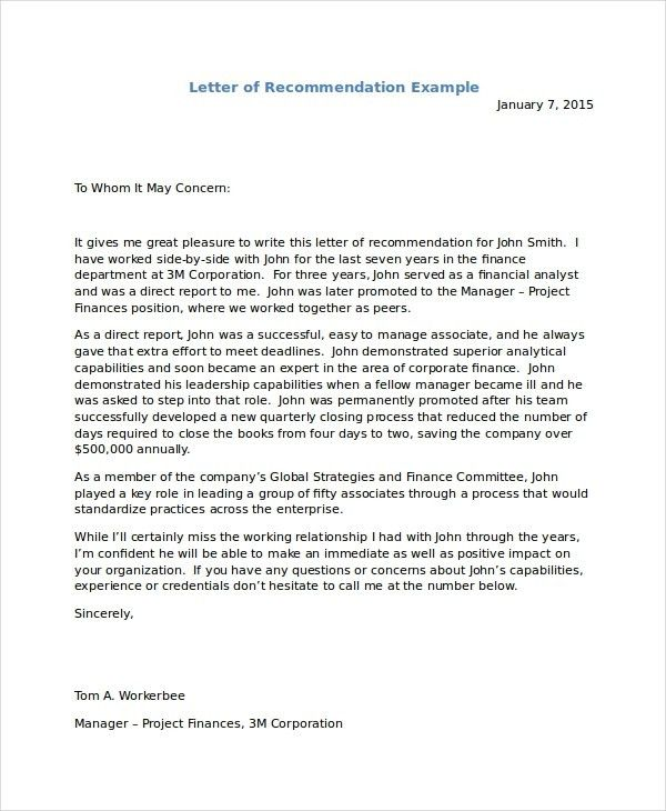 Character Letter For Immigration | Template Design