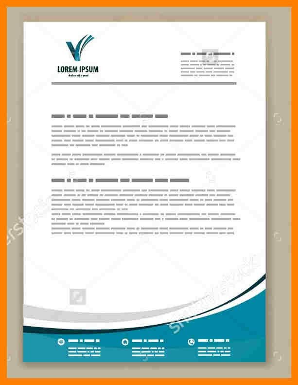 6+ professional letterhead examples | packaging clerks