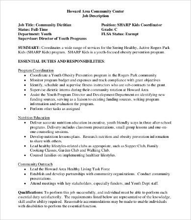 Nutritionist Job Description. Teller Job Review Dylan Kidds Get A ...