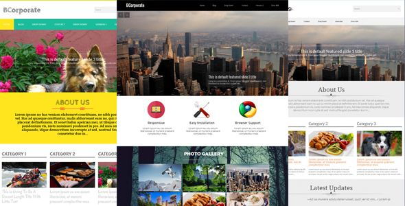 BCorporate - Responsive Blogger Template by fbtemplates | ThemeForest