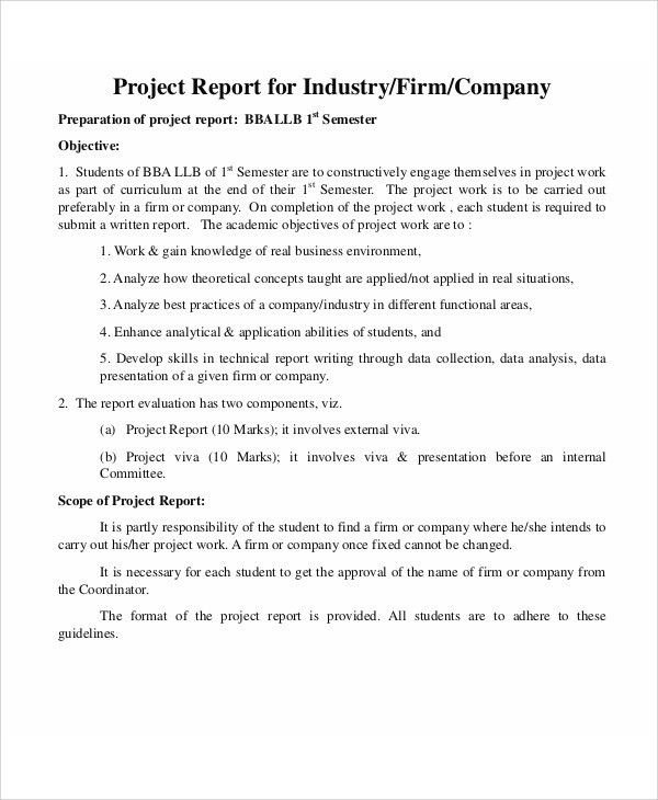 Company Report Templates - 9+ Free Word, PDF Format Download ...