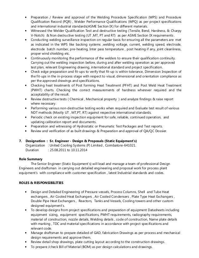 Ealumalai Muthu CV for API 510 Inspector or Plant Inspector or Inspec…