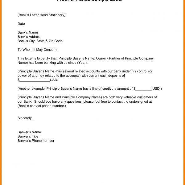 Bank Cover Letter For Address Proof – Cover Letter Examples inside ...