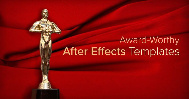 Roll Out the Red Carpet—After Effects Templates Inspired by 2017's ...