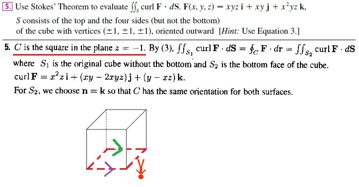 multivariable calculus - Problem using Stokes's Theorem - Boundary ...