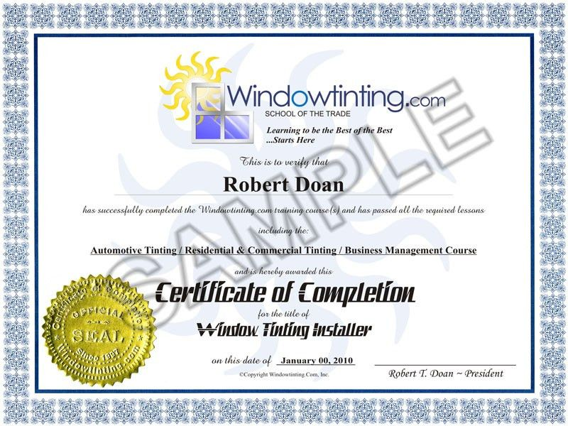 Windowtinting.com - School of the Trade: Hands-on Window Tinting ...