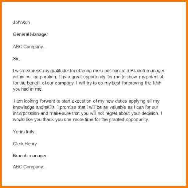 Thank You Letter For Promotion. Promotioninterviewtips ...