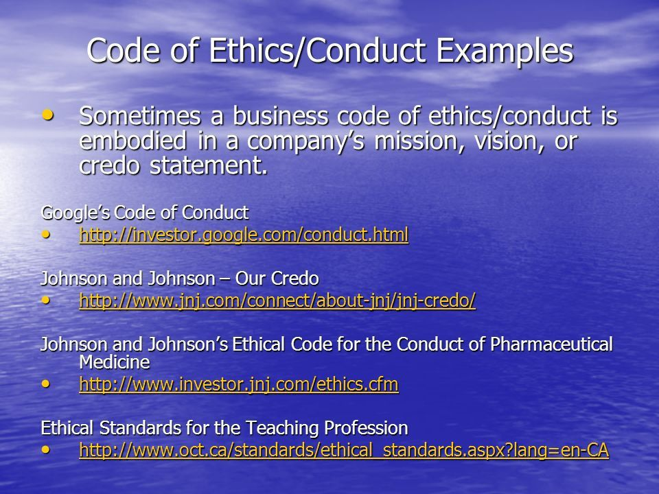 Business Ethics and Social Responsibility. EthicsEthics Standards ...