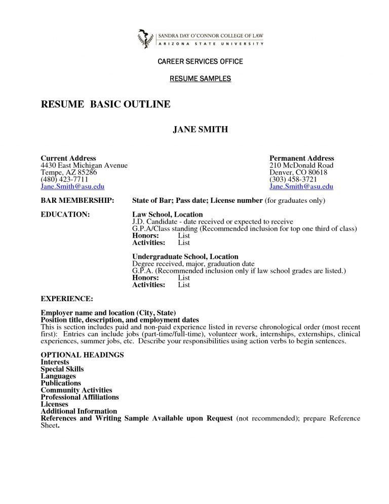 Shining Ideas How To Write A Simple Resume 7 How To Write A Basic ...