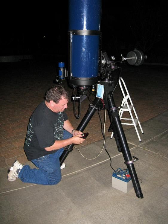 Astronomy At Old Ranch