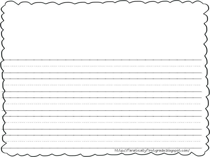 Best Photos of First Grade Writing Paper Printable - Printable ...