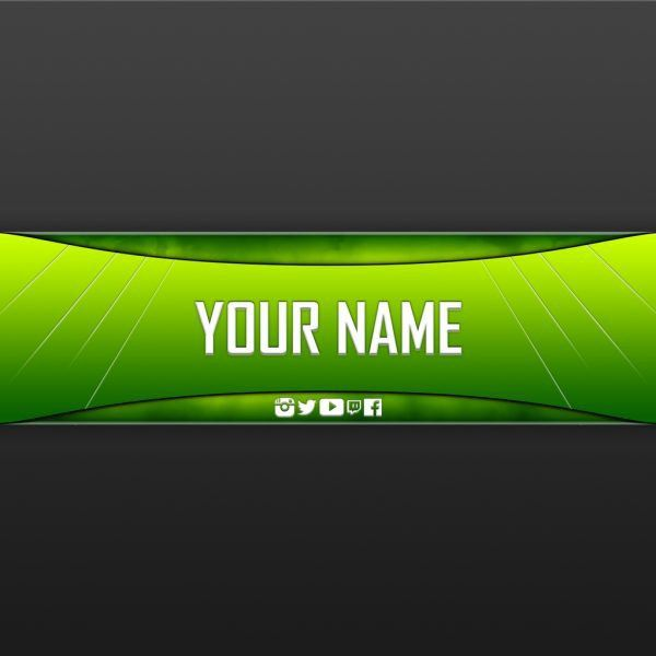 Free Youtube Banner Templates – Helmar Designs in Youtube Gaming ...